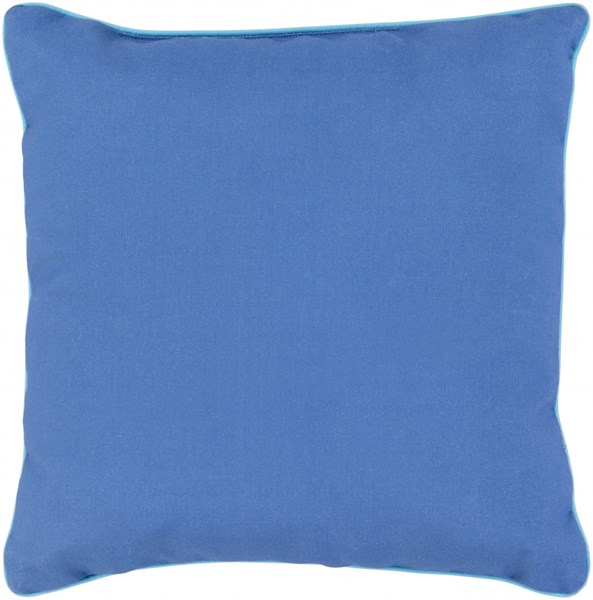 Bahari Cobalt Lime Polyester Throw Pillow - 16X16 BR001-1616