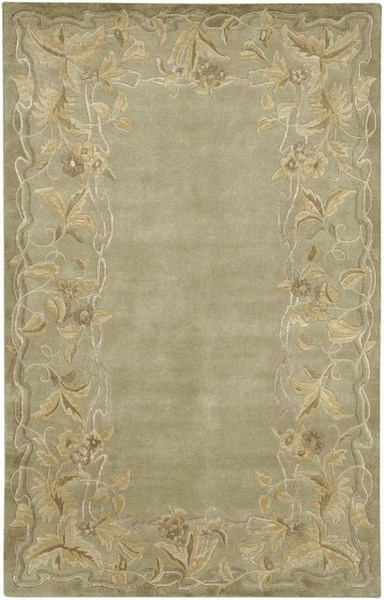 Mugal Plush Pile L 36 X W 24 Rectangle Wool Rug IN-8058 IN8058-23