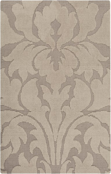 Abigail Taupe Light Gray Polyester Kids Rug (L 36 X W 24) ABI9004-23