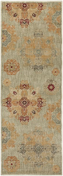 Arabesque Gray Rust Forest Mocha Olive Polypropylene Rugs ARABESQUE-DCR-BNDL