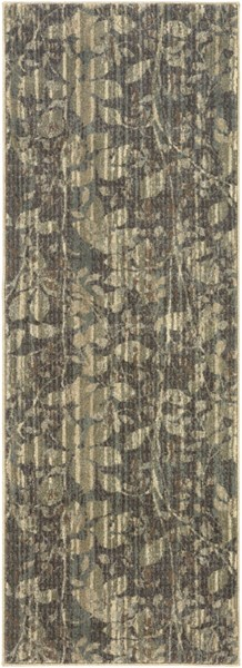 Arabesque Contemporary Olive Polypropylene Rugs 12845-VAR1