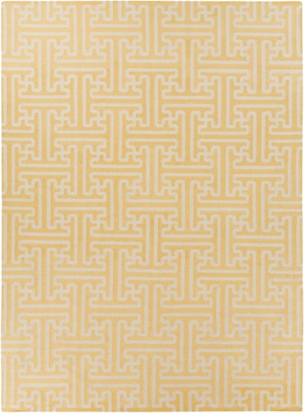 Archive Gold Beige Wool Area Rug - 96 x 132 ACH1707-811
