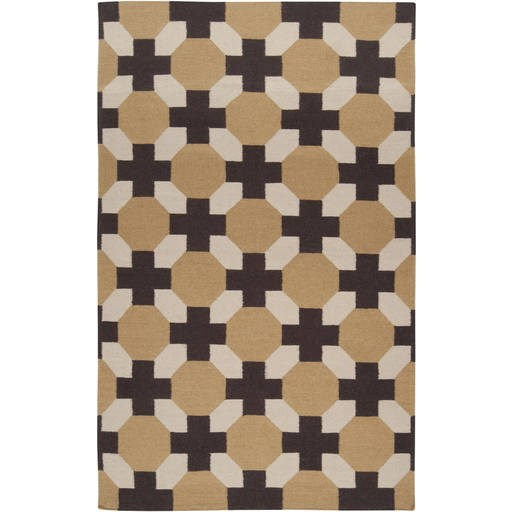 Archive Flat Pile L 96 X W 60 Rectangle Wool Rug ACH-1716 ACH1716-58
