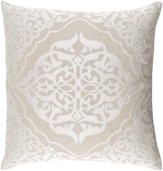 Surya Adelia Ivory Pillow Cover - 22x22 ADI001-2222