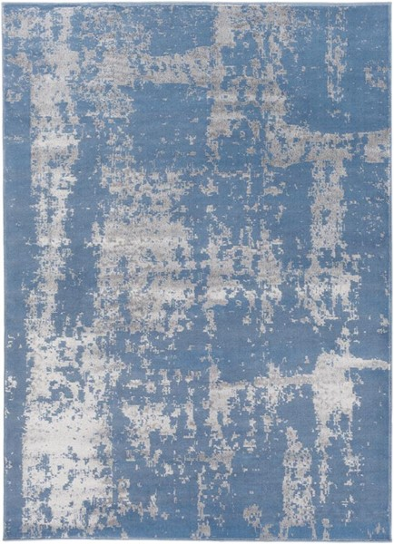Surya Amadeo Denim Medium Gray Polypropylene Area Rug - 122x94 ADO1003-710102