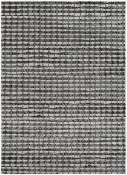 Surya Amadeo Medium Gray Black White Polypropylene Area Rug - 122x94 ADO1014-710102