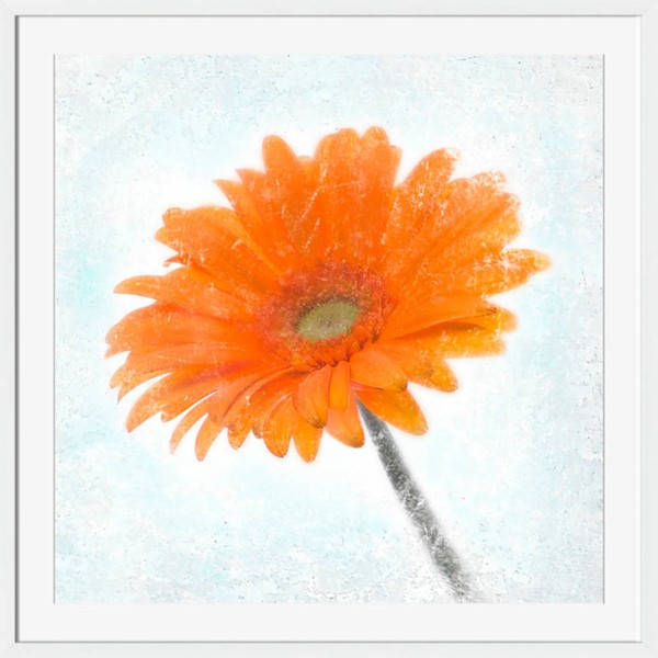 Surya Eternal Orange Paper Wall Art - 20x20 AI268A001-2020