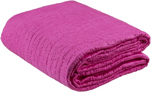 Albany Hot Pink Cotton Silk Twin Quilt - 86x68 ALB2009-T