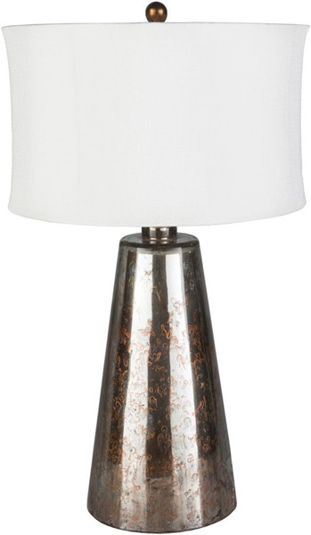 Surya Alcott White Glass Rubber Table Lamp - 18x31.25 ALC-001