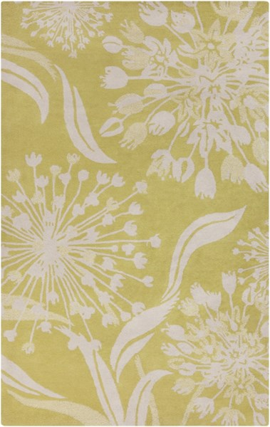Alhambra Contemporary Lime Ivory New Area Rug (L 96 X W 60) ALH5032-58
