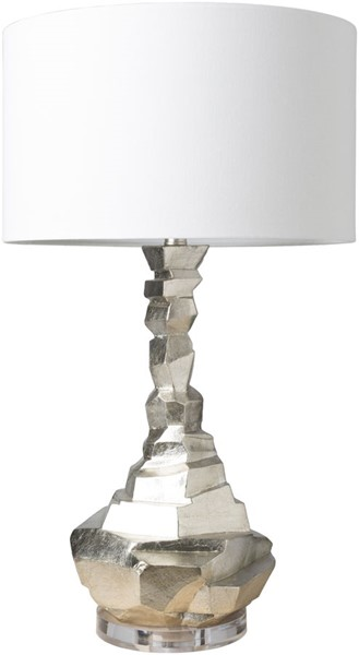 Surya Alexis White Acrylic Table Lamp - 16x31.25 ALI-100