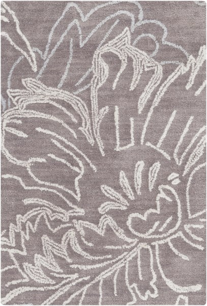 Ameila Taupe Charcoal Light Gray Polyester Area Rug (L 36 X W 24) AME2238-23