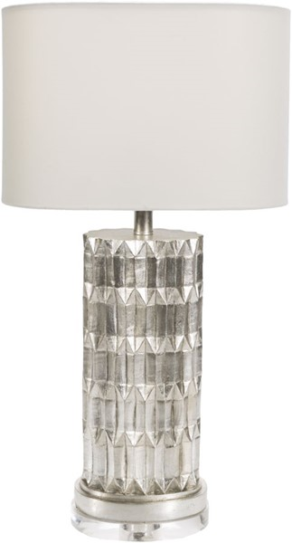 Surya Amity Ivory Acrylic Table Lamp - 8.5x27.50 AMI100-TBL