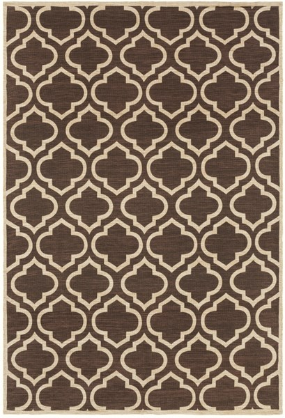 Amarillo Black Beige Gray Cotton Jute Area Rug (L 96 X W 60) AMO1000-576