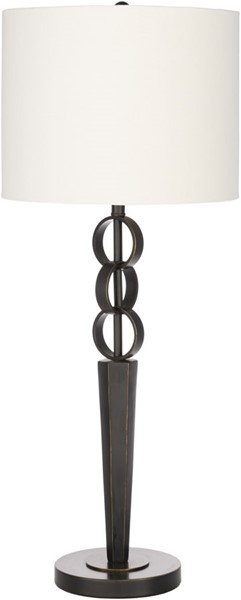 Surya Anja Black Cream Metal Table Lamp 13x32 50 The Classy Home