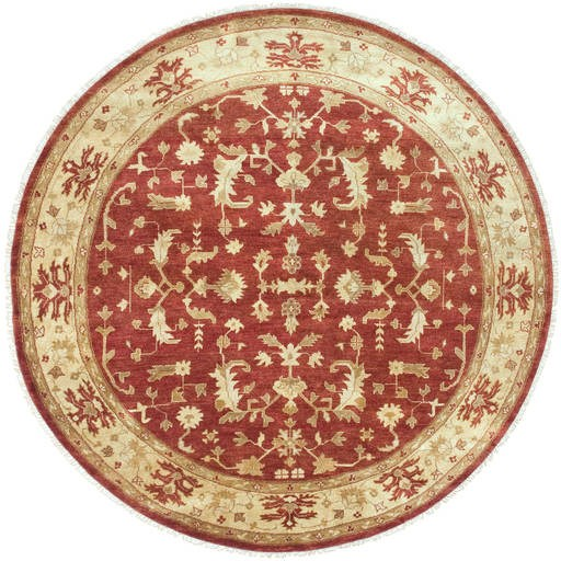 Antolya Thin Pile 96 Inch Round Wool Rug ANT-9702 ANT9702-8RD