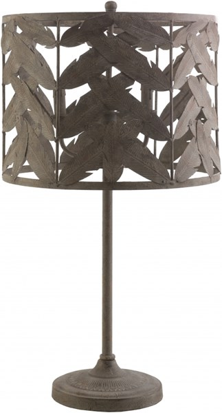 Apache Natural Iron Iron Table Lamp - 15.75x30.5 APC722-TBL