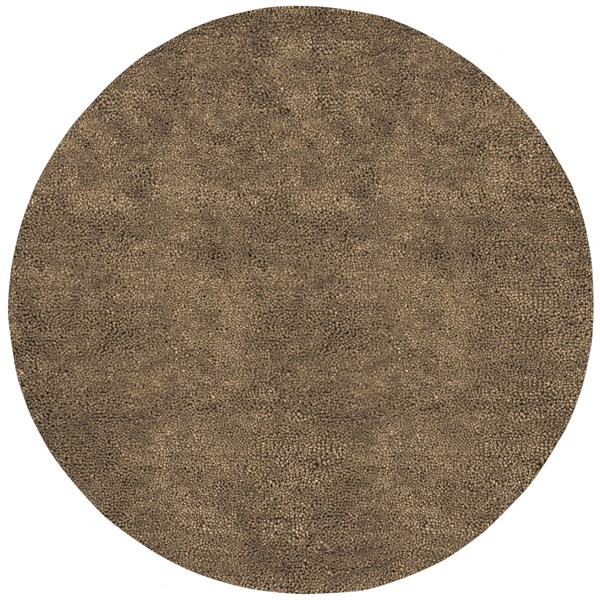 Aros Olive Wool - Felted Round Area Rug - 96 x 96 AROS10-8RD