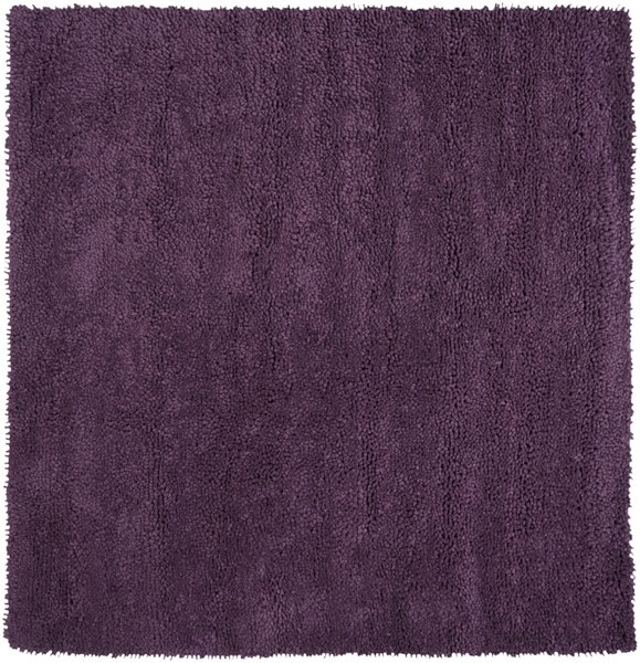 Aros Eggplant Wool - Felted Square Area Rug - 96 x 96 AROS15-8SQ