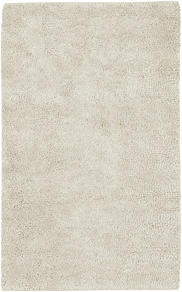Aros Ivory Wool - Felted Area Rug - 60 x 96 AROS2-58