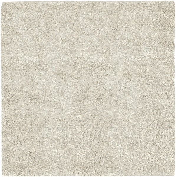 Aros Ivory Wool - Felted Square Area Rug - 96 x 96 AROS2-8SQ