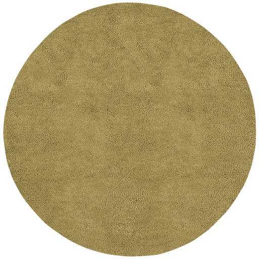 Aros Contemporary Beige Wool Area Rug (L 96 X W 96) AROS3-8RD