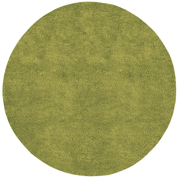 Aros Moss Wool - Felted Round Area Rug - 96 x 96 AROS6-8RD