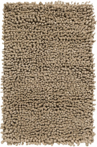 Aros Contemporary Beige Wool Rectangle  Area Rugs 13-VAR2