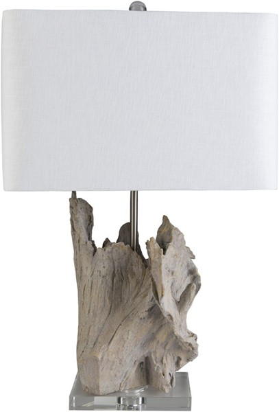 Surya Darby White Crystal Table Lamp - 11x26.25 ARY-001