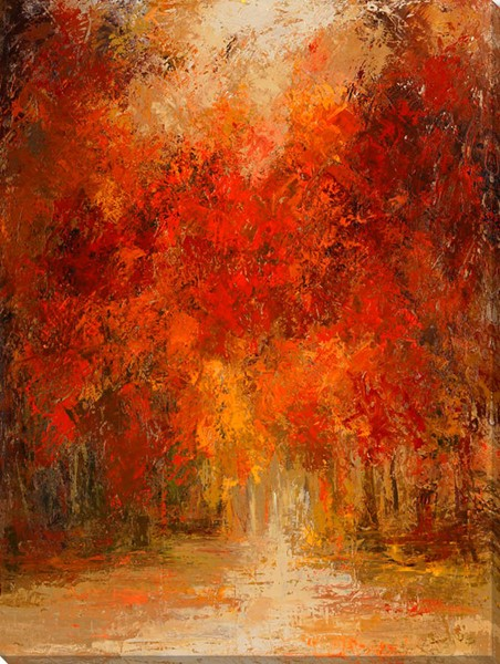 Surya Eternal Canvas Sunny Autumn Wall Art - 36x48 AS198A001-3648