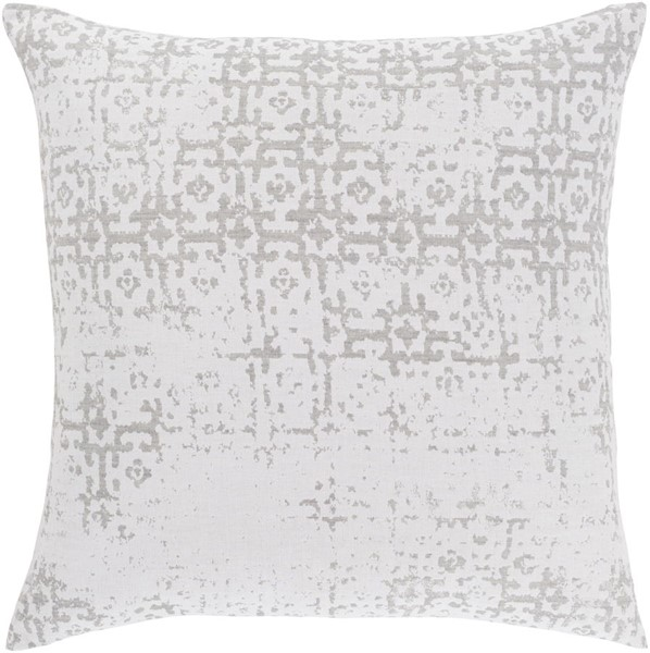 Surya Abstraction Light Gray Euro Sham ASR1000-ES