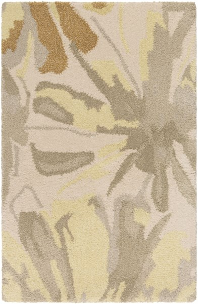 Athena Gold Butter Gray Olive Wool Area Rug - 24 x 36 ATH5071-23