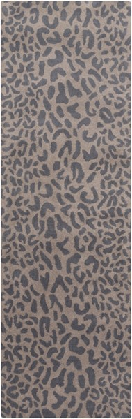 Athena Gray Taupe Fabric Hand Tufted Runner ATH5114-268