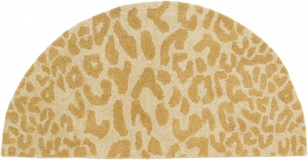 Athena Olive Gold Wool Hearth Area Rug - 24 x 48 ATH5121-24HM