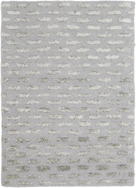 Atlantis Contemporary Moss Taupe Wool Area Rugs 183-VAR1
