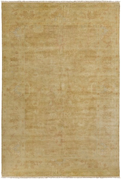 Antique Beige Olive Taupe Moss New Zealand Wool Area Rug - 66 x 102 ATQ1001-5686