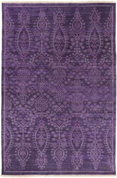 Antique Violet Wool - New Zealand Area Rug - 66 x 102 ATQ1013-5686