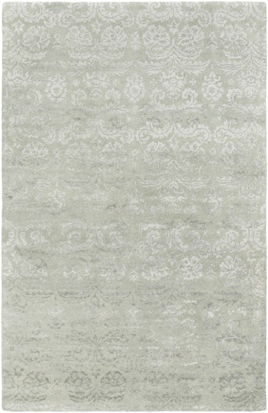 Avignon Moss Gray Wool Area Rug - 60 x 90 AVI2004-576