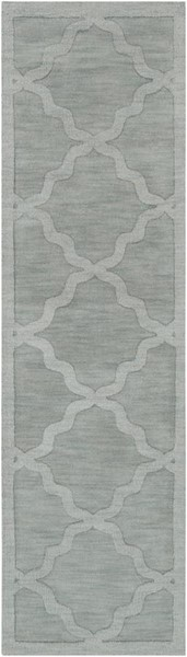 Surya Central Park Ice Blue Sage Wool Runner - 120x27 AWHP4017-2310