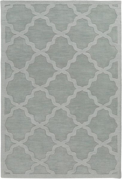 Surya Central Park Ice Blue Sage Wool Area Rug - 120x96 AWHP4017-810