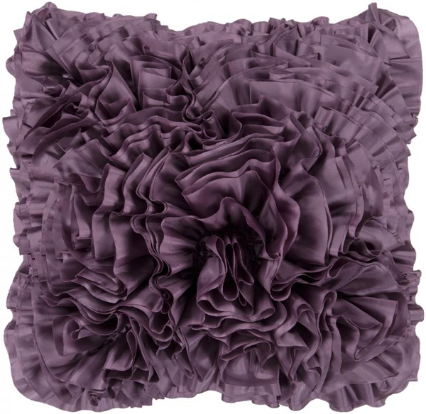 Prom Mauve Down Throw Pillow - 22x22x5 BB035-2222D