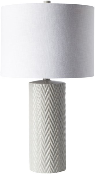 Surya Branch White Ceramic Table Lamp - 13x23.50 BCH100-TBL