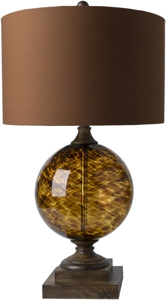 Surya Belgrave Clay Glass Table Lamp - 16x28.50 BEG-100