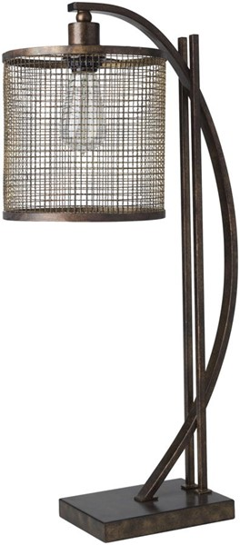 Surya Beaufort Metal Table Lamp - 11.5x26 BEU-101