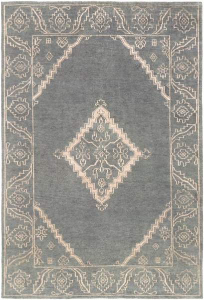 Bagras Forest Chocolate Ivory Bamboo Silk Wool Area Rug - 96 x 132 BGR6000-811