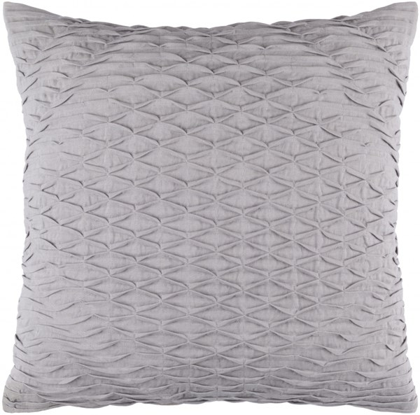 Baker Pillow With Poly Fill In Slate Dark Gray - 18 x 18 x 4 BK004-1818P