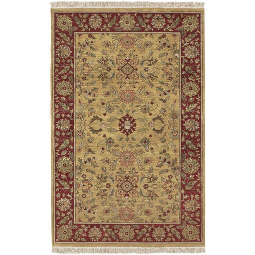 Babylon Plush Pile L 36 X W 24 Rectangle Wool Rug BL-1902 BL1902-23