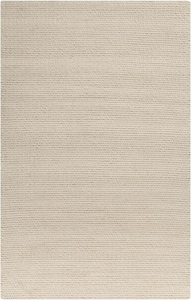 Baltic Contemporary Ivory Wool Area Rugs 12751-VAR1