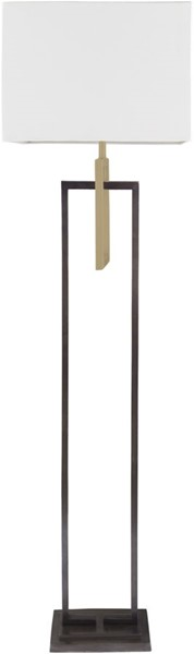Surya Blythe White Metal Floor Lamp - 18.5x66 BLY-001