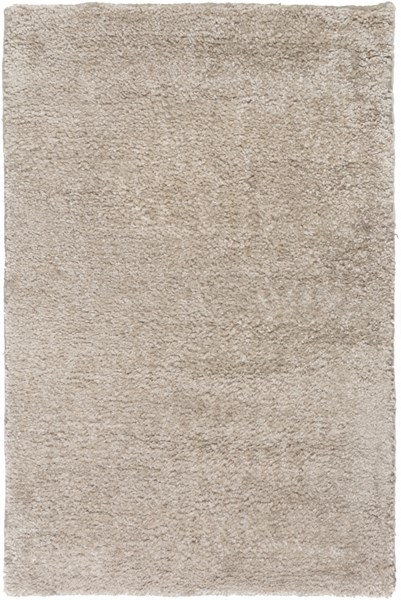 Banana Contemporary Beige Taupe Bamboo Silk Fabric Area Rugs 1788-VAR1